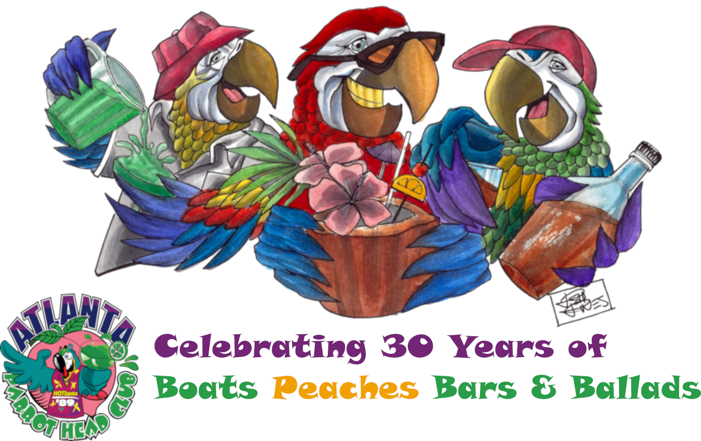 The Atlanta Parrot Head Club - Atlanta PHC 30th Anniversary Celebration